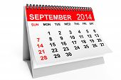 stock photo of year 2014  - 2014 year calendar - JPG