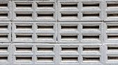 image of aeration  - close up Aerated concrete wall texture for background - JPG