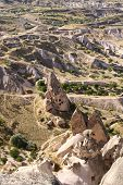 stock photo of goreme  - Goreme Open Air Museum near Cappadokia in Turkey