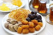 image of iranian  - iranian tea and sweets - JPG