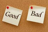 Постер, плакат: Good Versus Bad