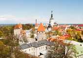 picture of olaf  - Scenic panorama of the Old Town in Tallinn Estonia - JPG