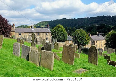 All Saints churchyard, Bakewell.