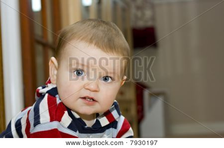 An Adorable Cute One Year Old Boy