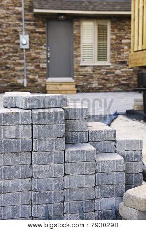 Interlocking Stone Driveway