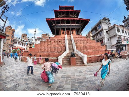 Pagoda In Kathmandu
