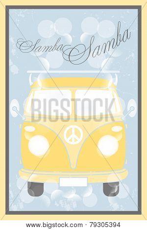 Samba Bus Poster