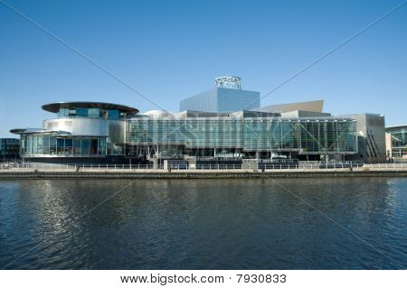 Lowry theatre and art gallery