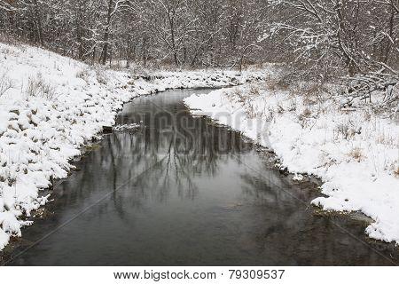 Winter River Scenic
