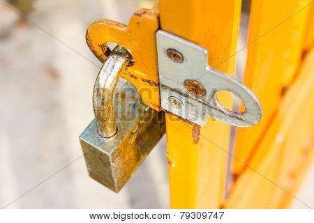 Padlock With Steel Doors
