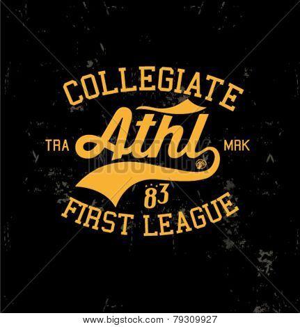 college varsity logo 5
