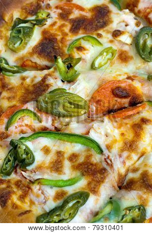 Pizza Topping Close Up