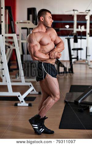 Bodybuilder Side Chest