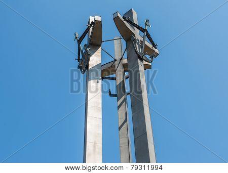 Monument In Gdansk Shipyard
