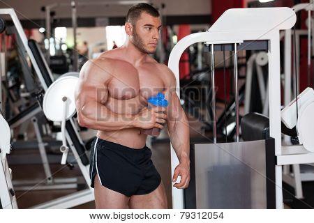 Bodybuilder Protein Shake