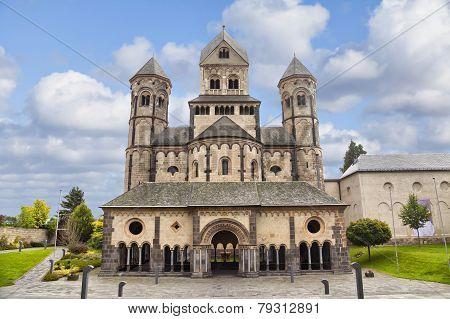 Church In Maria Laach Abbey, Germany
