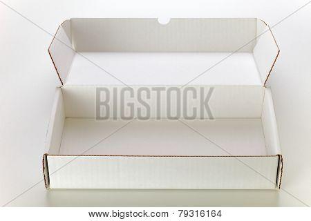 White Cardboard Box