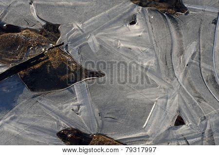 Pattern In A Frozen Lake