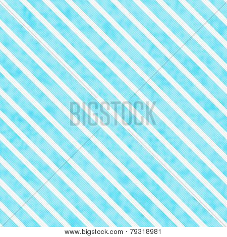 Teal And White Striped Pattern Repeat Background