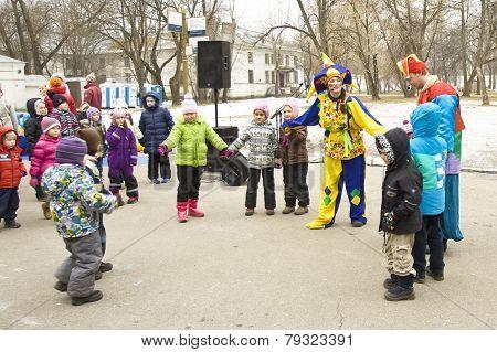 Spring Carnival Pancake Week In Russia
