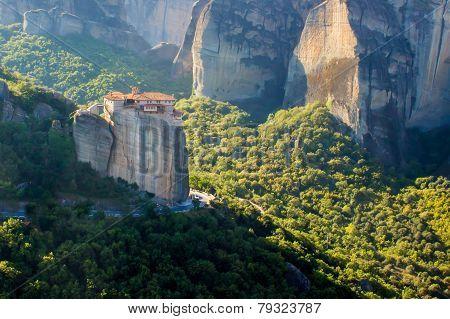Meteora, Orthodox Monastery In Greece