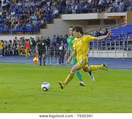 Ukraine - Lithuania National Teams Friendly Football Match