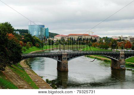Barclays Bank Office Building And Vilnius Educology University
