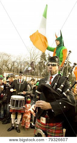 St. Patrick`s Day In Moscow