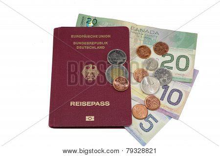 Passport Canada Dollar