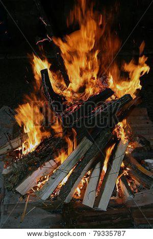 Fire log