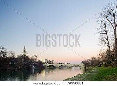 Turin (torino), River Po
