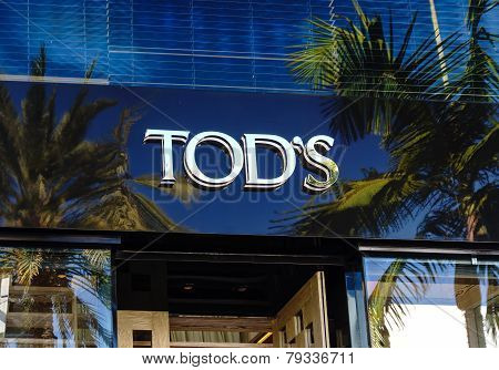 Tod's Retail Store Exterior