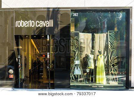 Roberto Cavalli Store Exterior