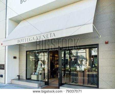Bottega Veneta Retail Store Exterior