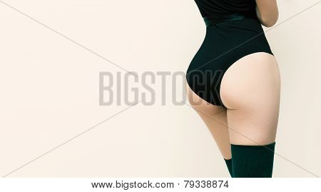 Slim Body And Buttocks. Women's Beauty