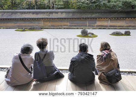 Hojo Zen Rock Garden