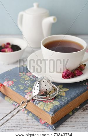 Tea Strainer In The Shape Of Heart