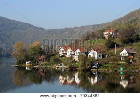 River Zapadna Morava, Serbia