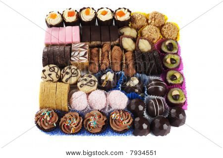 selection of cakes