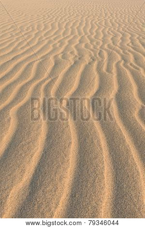 Waves On Sand Dunes  In Chaves Beach Praia De Chaves In Boavista Island Cape Verde - Cabo Verde
