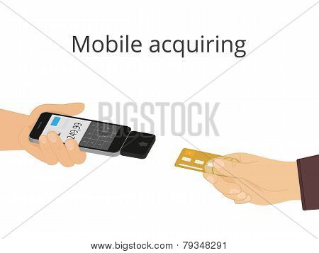 Mobile acquiring