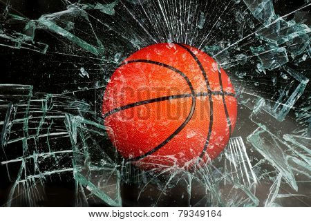 Basketball Through Glass.