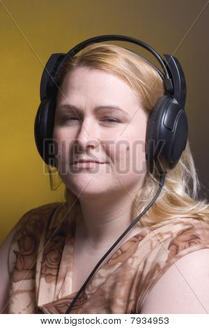 Women Listing To Music