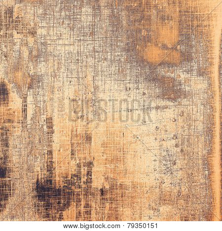 Grunge colorful background. With different color patterns: brown; gray; yellow (beige)