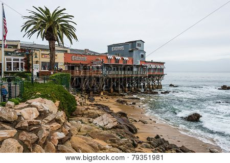 Cannery Row, Beach, Monterey Bay California