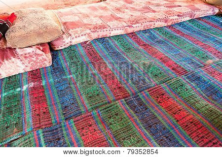 Carpet Of A Bedouin Camp
