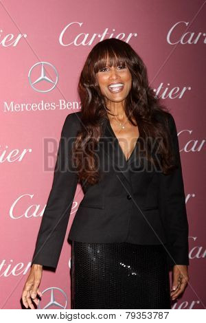 LOS ANGELES - JAN 3:  Beverly Johnson at the Palm Springs Film Festival Gala at a Convention Center on January 3, 2014 in Palm Springs, CA