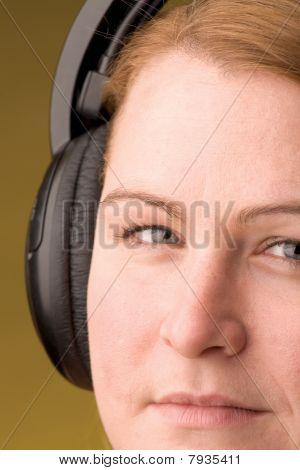 Women With Headphone