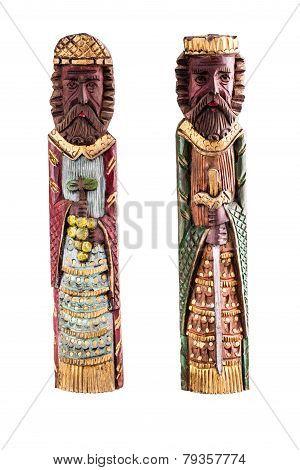 Wooden Medieval Kings