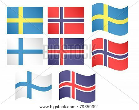 European Flags 4
